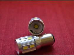 1157 P21/5W  BAY15D Samsung SMD 12+1 Cree белый