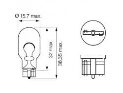 T15 (W16W) безцокольні LED