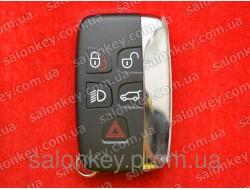 Акция LAND ROVER ключ smart 434Mhz Hrome.