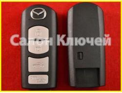 TKY2675DY Ключ Mazda с чипом и кнопками (ORIGINAL)