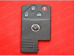 Mazda ключ карта корпус 4 кнопки