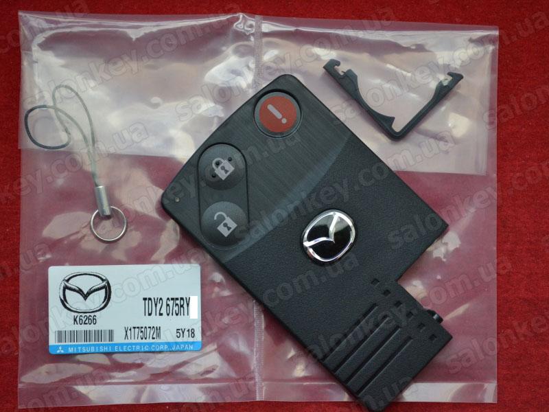 Ключ карта Mazda TDY2-67-5RY