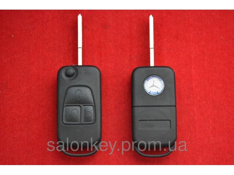 Mercedes ML, W140 ключ выкидной Лезвие HU39 Без стекла и лого