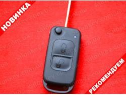 Ключ выкидной Mercedes Vito Sprinter 2 кнопки лезвие YM15 корпус.
