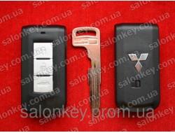 Smart ключ Mitsubishi 3 кнопки