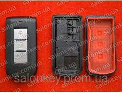 Корпус smart ключа Mitsubishi Lancer 2 кнопки