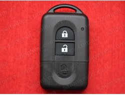 Ключ Nissan Micra, Note, Juke, Qashqai, X-Trail корпус 2 кнопки