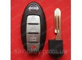 Ключ Nissan Sentra Versa 4 кнопки