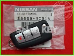 28268-4CB1B Ключ Nissan (ORIGINAL) H0561-4BA1B