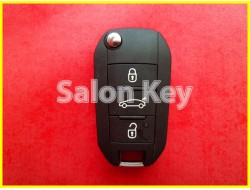 Ключ Peugeot 508 2010-2015 (Original) PCF7941 433Mhz