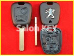 Корпус ключа Peugeot 2 кнопки лезвие VA2 (ORIGINAL)