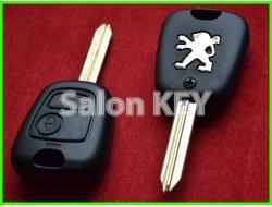 Корпус ключа Peugeot 2 кнопки лезвие SX9 (ORIGINAL)