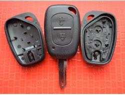 Ключ Renault 2 кнопки лезвие NE73 без электроники Master Trafic и др.