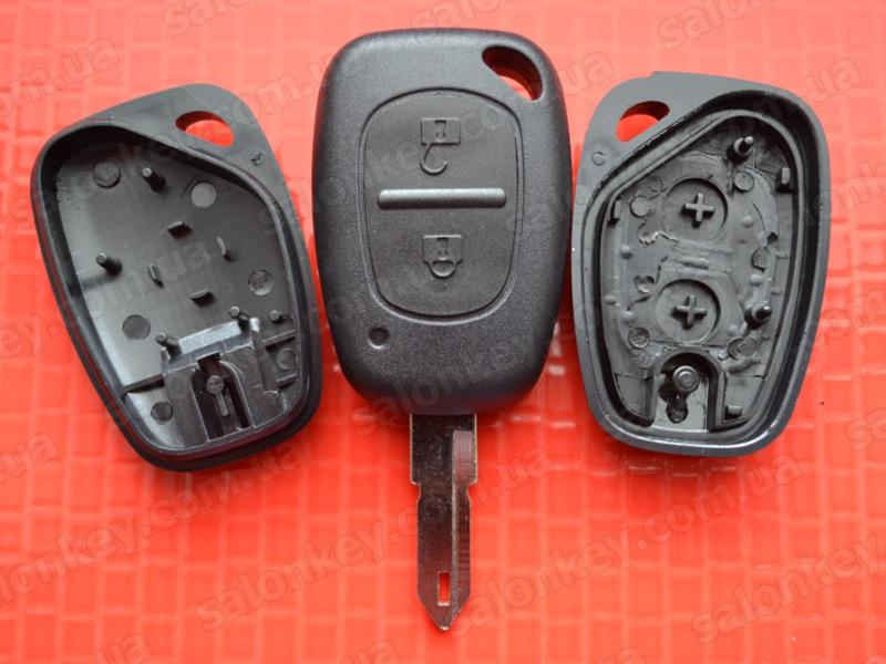 Ключ Renault Master Trafic и др. 2 кнопки Хорошего качества