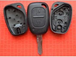 Ключ Renault Kangoo 2 кнопки лезвие VAC102 без электроники