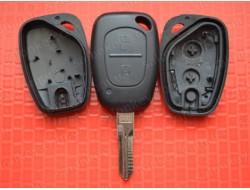 Ключ Renault Kangoo 2 кнопки лезвие VAC102 Хорошего качества без электроники