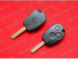 Ключ Renault 3 кнопки лезвие VA2 корпус без электроники
