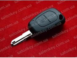Ключ Renault Master 2 кнопки 434Mhz PCF7946 id46 434Mhz лезвие NE73 с 2002 по 2010г