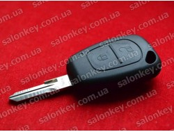 Ключ Renault Kangoo 2 кнопки 434Mhz PCF7946 id46 434Mhz лезвие VAC102 с 2002 по 2008г