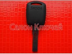 Kлюч Skoda octavia, fabia, roomster, superb с местом под чип оригинал