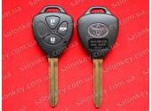 89070-33D90 Ключ Тойота с чипом и кнопками