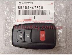 Ключ Toyota Prius с 15-