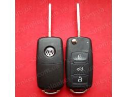 Ключ выкидной Volkswagen 3 кнопки 434Mhz CAN id48 5K0 837 202