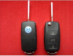 Выкидной корпус ключа Volkswagen на 3 кнопки до 10г
