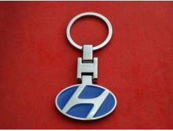 Брелок HYUNDAI для ключей с логотипом цветной