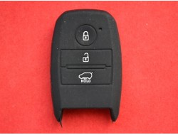 Чехол силиконовый для смарт ключа KIA 3 кнопки