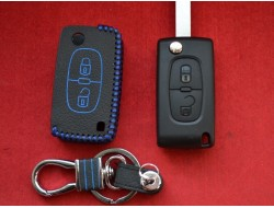 Кожаный чехол для ключа Citroen 2 кнопки