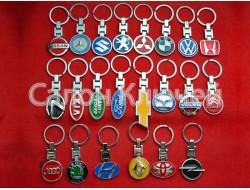 Брелок для ключей TOYOTA цветной