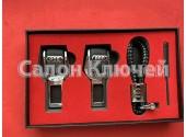 Подарочный набор Audi. Кожаный шнурок, заглушка для ремня.