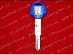 Ключ для мото Bike синий с местом под чип
