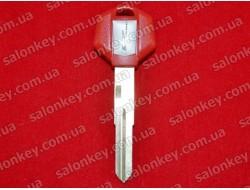 Ключ для мото Bike красный с местом под чип