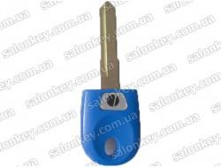 Ключ для мотоцикла Ducati синий с местом под чип
