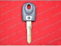 Ключ для мотоцикла Ducati чёрный с местом под чип