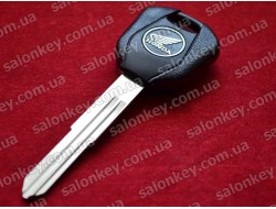 Ключ мото Honda контейнер чёрный