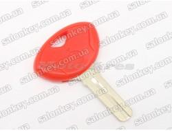 Ключ для мотоцикла BMW красный с местом под чип