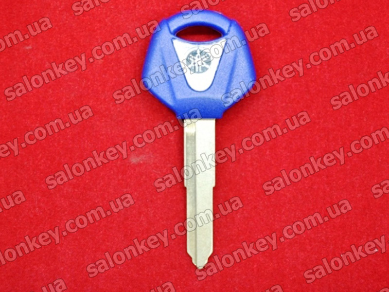 Ключ для мотоцикла Yamaha синий. Короткое лезвие.