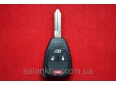 Ключ CHRYSLER 3+1 кнопки 315MHZ id46.