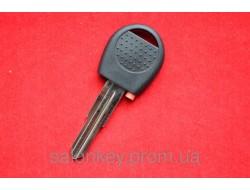 Ключ Chevrolet  aveo, zaz vida с местом под чип Без логотипа