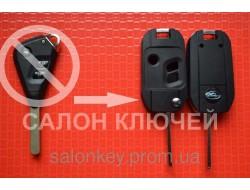 Ключ Subaru tribeca, forester, impreza, outback выкидной 3кн. Для переделки лезвие DAT17. Вид №4.