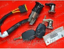 Комплект замков и ключей Renault duster 806079912R