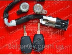 806019912R Renault комплект замков и ключей original
