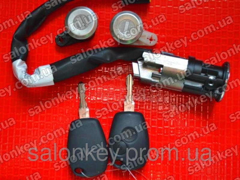 Запчасть № 806019912R коплект замков с ключами для Renault