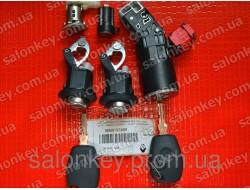 806019745R Renault комплект замков и ключей original