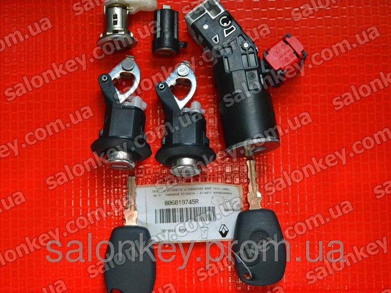 № 806019745R комплект замков и ключей RENAULT