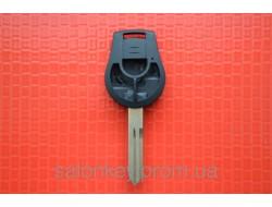 Корпус ключа Nissan Juke note 3 кнопки