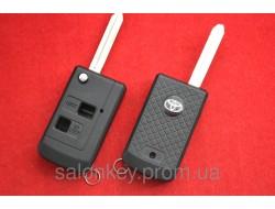 Ключ выкидной Toyota Prado корпус 2 кнопки Тип Mens Style